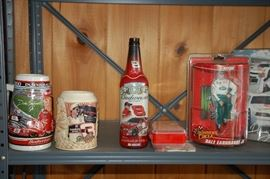 Beer steins/collectible bottles