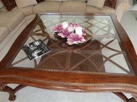 Large beautiful coffee table