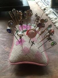 STICK PINS!  14K AND OTHERS...huge selection