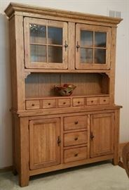 Attic Heirlooms by Broyhill china hutch.