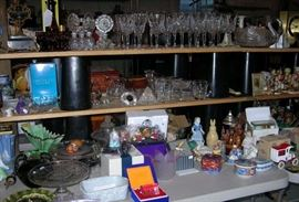 Waterford crystal, Disney collectibles, perfume bottles, glass, porcelain