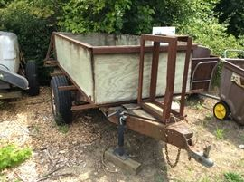 LOVELY GOOD CONDITION TRAILER WHICH IS ONE OF 3