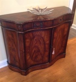 Theodore Alexander Regency style mahogany credenza