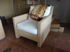 Jute Club Chair by Kreiss