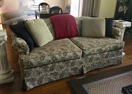 Nice upholstered sofa