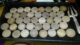 MORGAN SILVER DOLLARS - 38 AVAILABLE PRE 1900