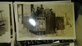 WORLD WAR I FRENCH POSTCARD SOLDIERS AT URINAL