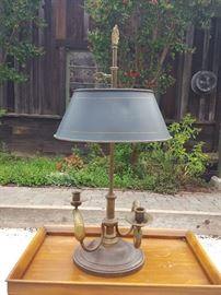 CHAPMAN BRONZE LAMP