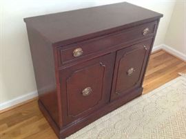 Antique Foyer Cabinet $ 160.00