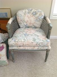 Vintage Upholstered Chair $ 70.00