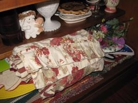 Linens and knick knacks