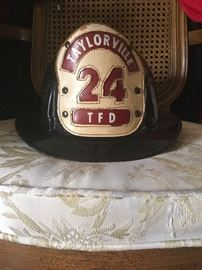 Vintage Taylorville Fire Department hat