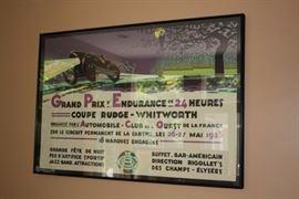 Grand Prix Endurance Poster