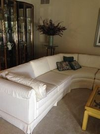 Lovely 4 piece sectional by  Sherrill! SOLD
