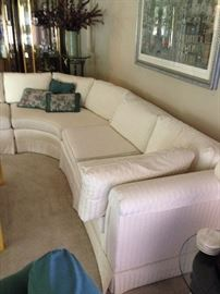 Another view of the sectional.Sold