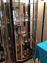 Silverplate and crystal serving pieces!