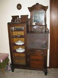 secretary/ bookcase
