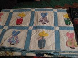sunbonnet quilt