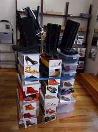 Swedish Hasbeens 7.5 and mostly 8 womens/ladies shoes and boots and other quality high end brands.