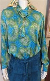 Amazing LIKE NEW Escada Blouse by Margaretha Ley