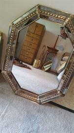 Heavy wall mirror