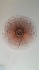 Mid-century Hollywood Regency Brutalist copper and brass wall sunburst – William Friedle
