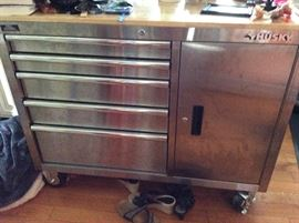 Husky tool cabinet/used in kitchen