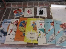 Vintage Patti Welder Stingerees Football Programs