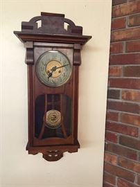 Beautiful antique wall clock