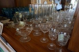 glassware for formal dining