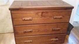 Cargo furniture dresser.