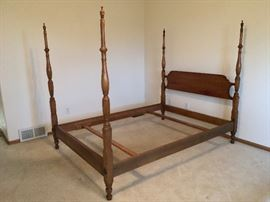 Stickley Full Size, Solid Cherry Bed