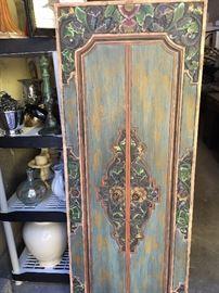 Carved Indonesian door