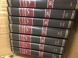 Complete set Encyclopedia Americana