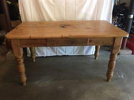 English pine farmhouse table
