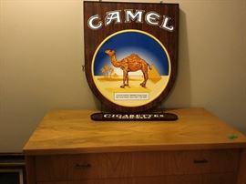 Camel advertising piece