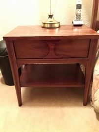 Perspecta by Kent Coffey mid-century night stand