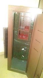 gun cabinet interior