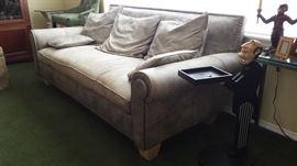 Leather very very nice sofa