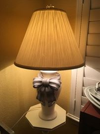 Pair of unusual matching now lamps