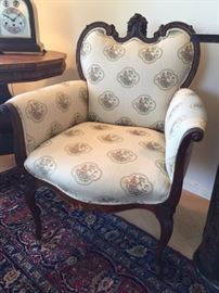 Custom Upholstered Occasional Chair