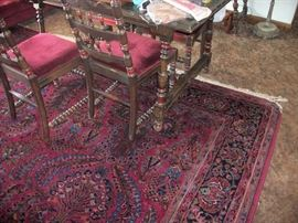 1 of 2 Large Oriental Rug (sold to highest offer)