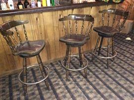 Great vintage bar stools