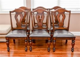 Set of 8 Dining Chairs (2 Captain's Chairs & 6 Side Chairs)