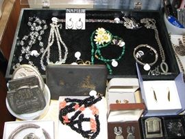 jewelry, vintage belt buckles