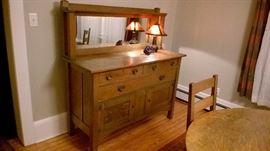 Antique Mission Quaint Dining Room Set