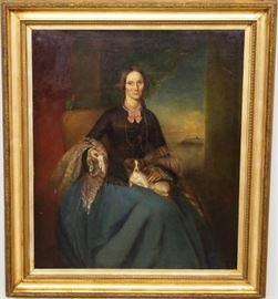 8.25 19th century oc Portrait woman