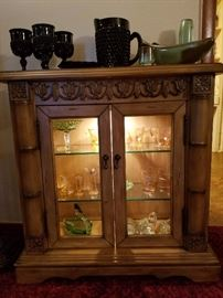 Glass curio case