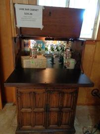 Vintage Lane Bar Chest