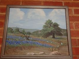 Texas Art by DL Fodge